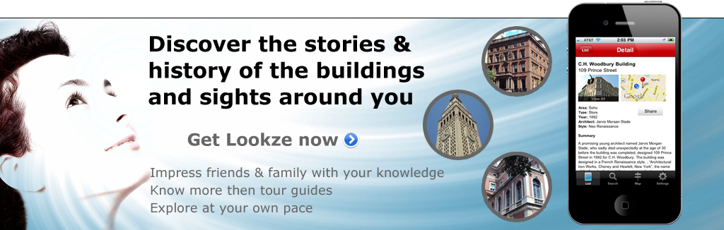 Discover the stories & history of the buildings and sights around you